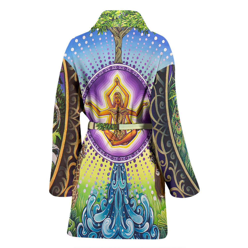 Universe &I - Women's Bathrobe