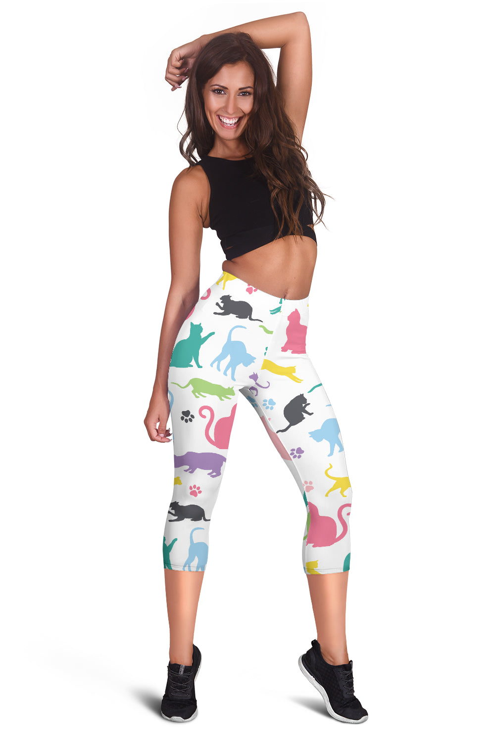 Cats Women's Capris Leggings
