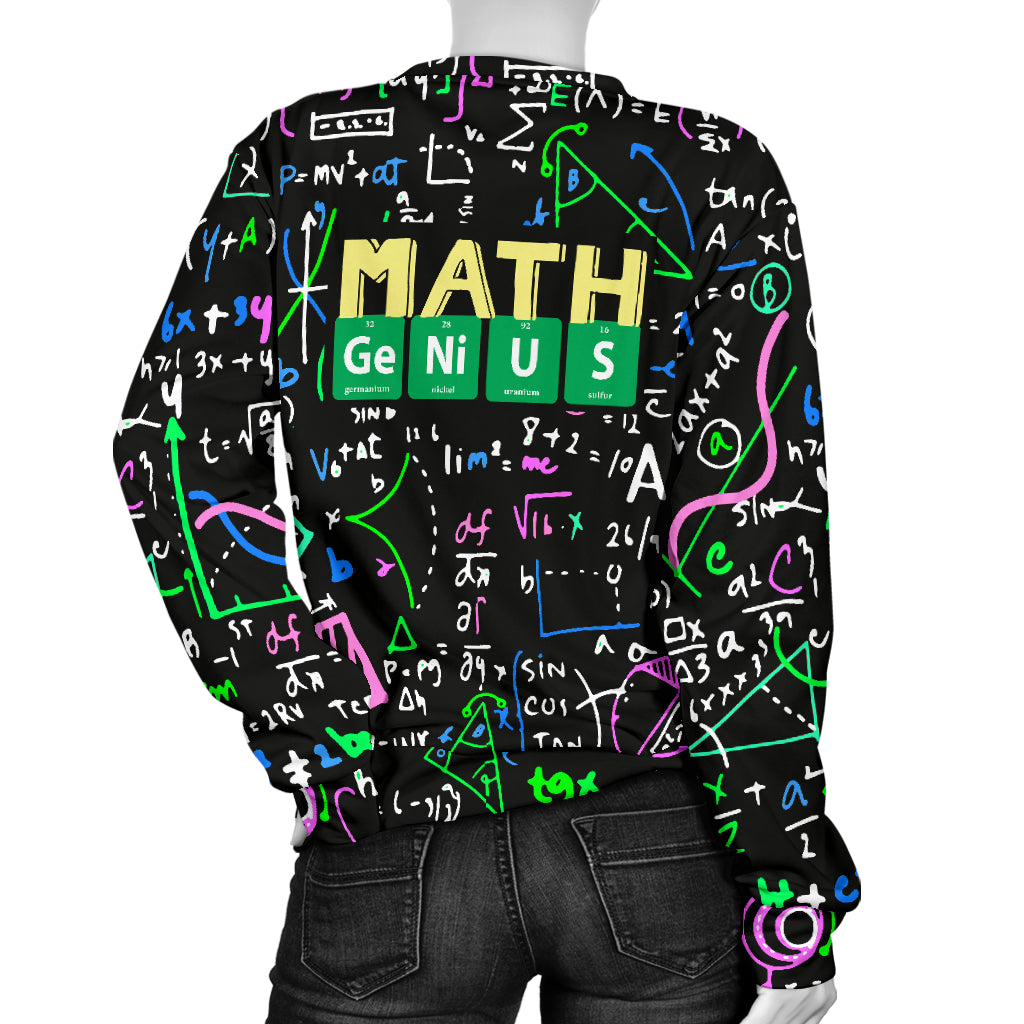 Math Genius Women's Sweater