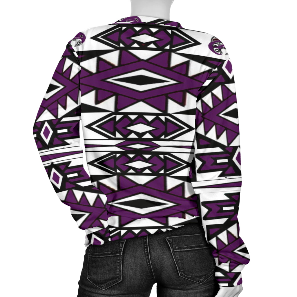Women's Native Sweater (purple)