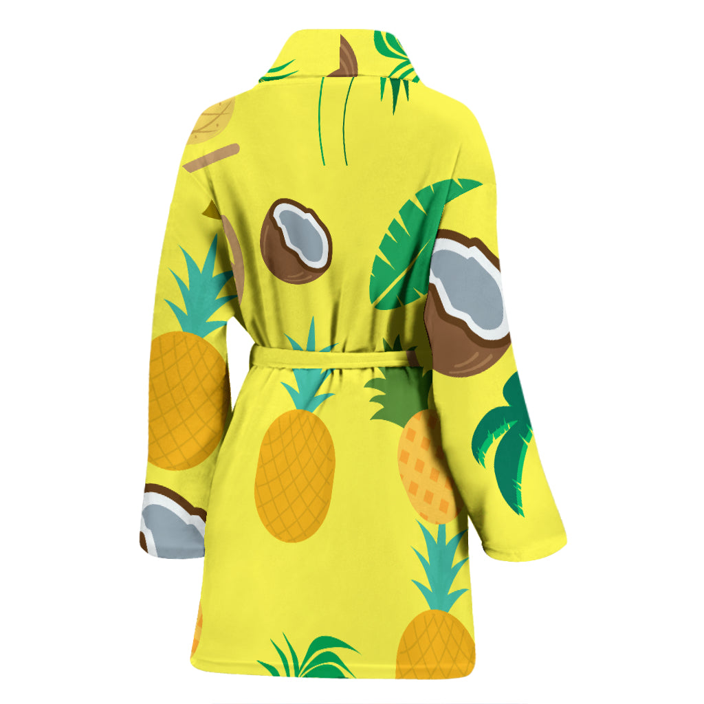Pina Colada Women's Bathrobe