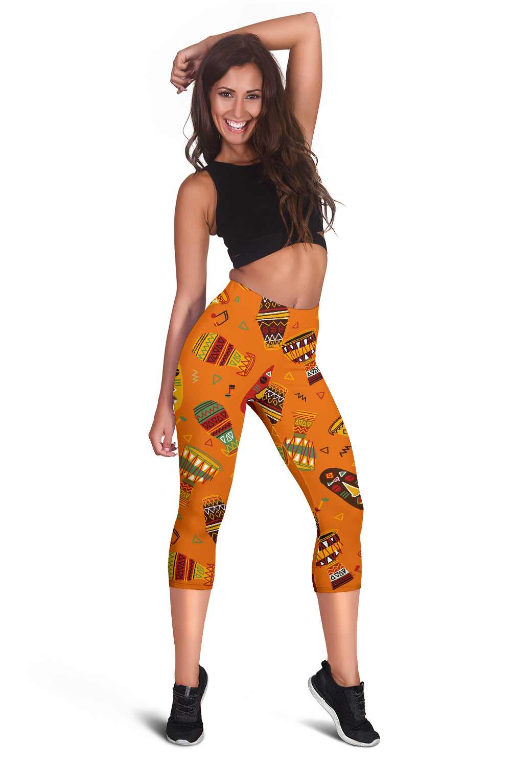 African Women's Capris Leggings