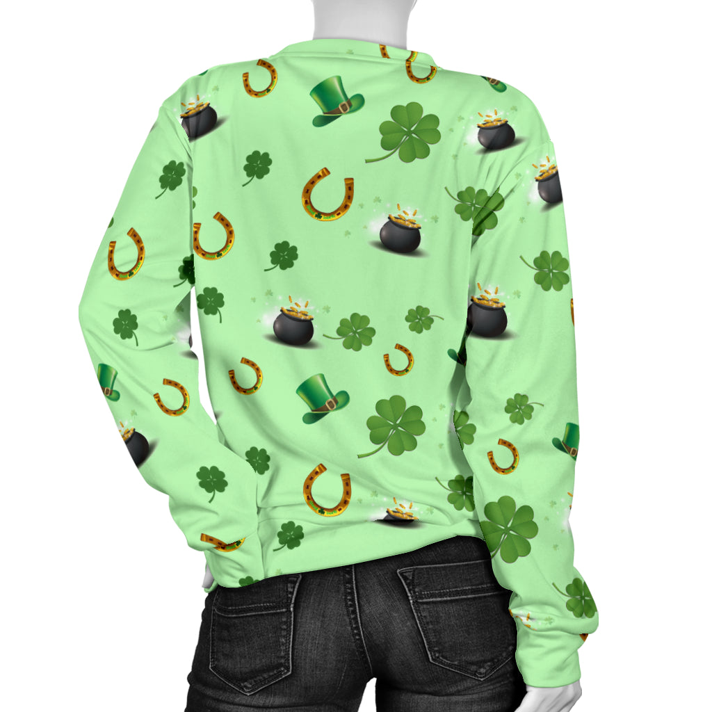 St Patricks Day Women's Sweater