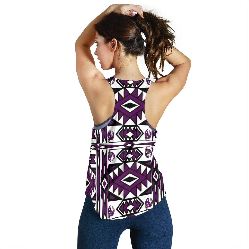 Women's Native Tank Top (purple)