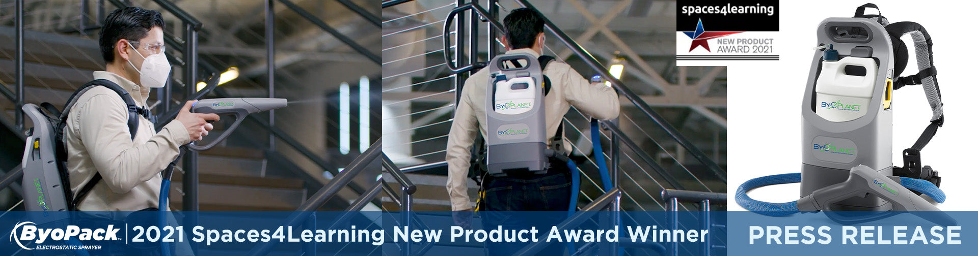 Daily use of the ByoPlanet® electrostatic spray system can help reduce rsa virus spread