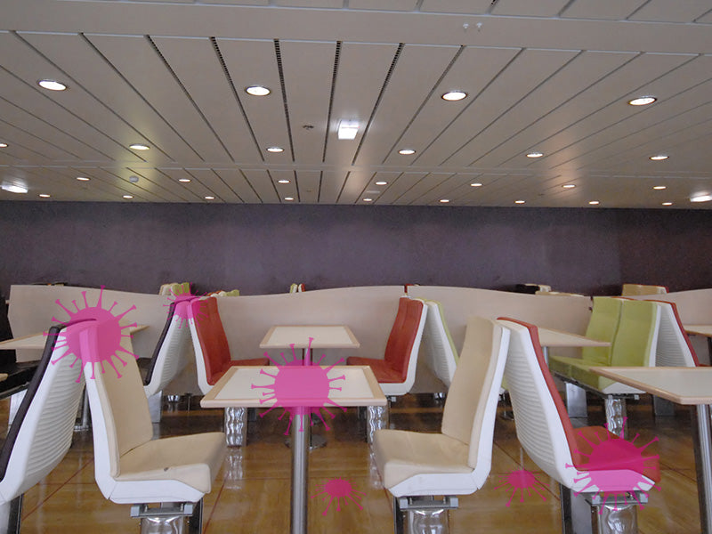 the cruise lines and covid-19 traveling and disinfection