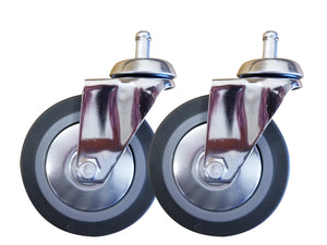 "4"" CASTER WHEELS (PAIR)"