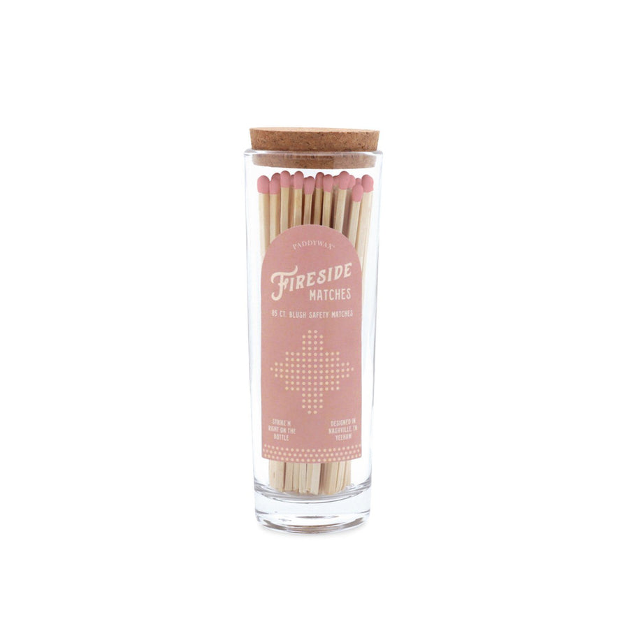 Fireside Safety Matches - Blush