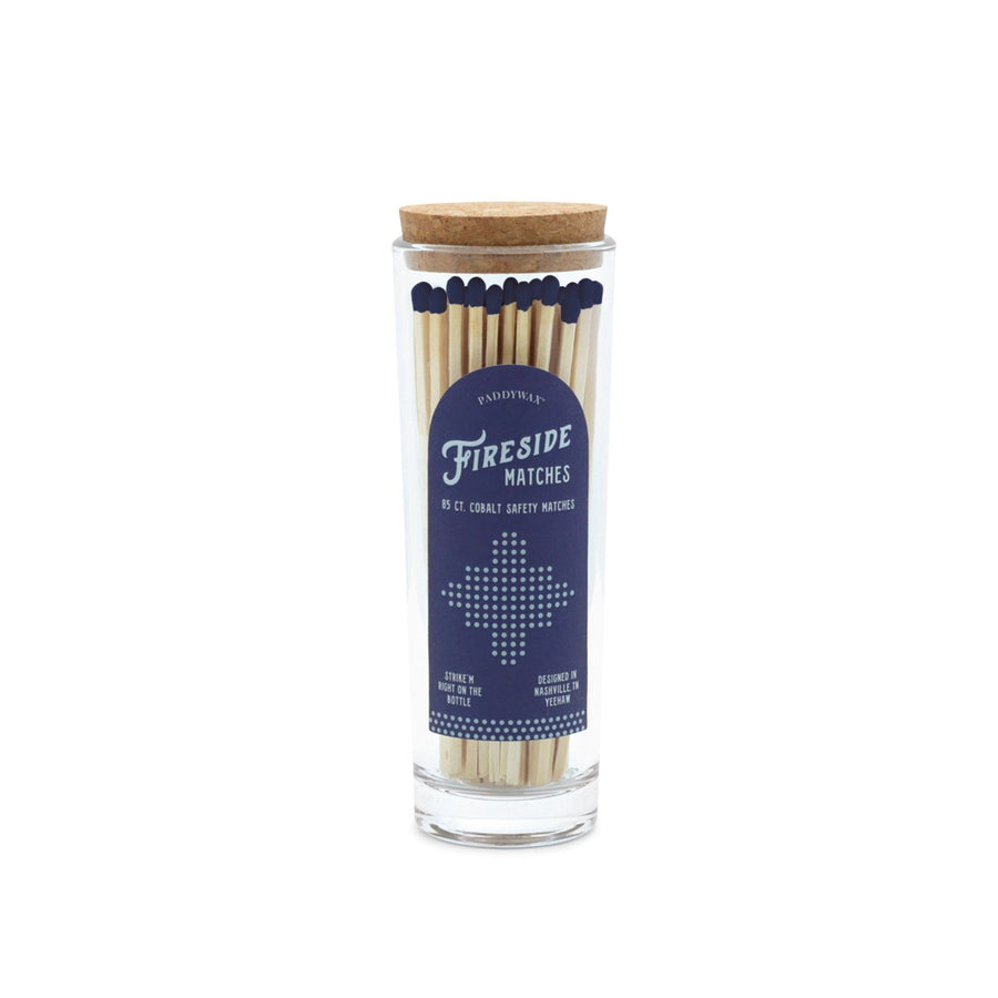 Fireside Safety Matches - Blue