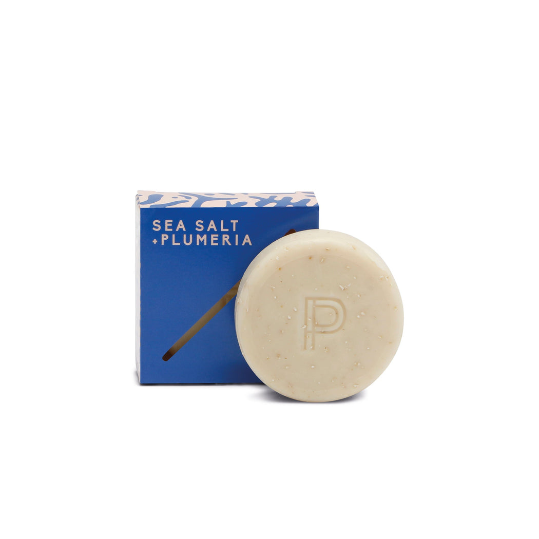 Bar Soap - Sea Salt + Plumeria