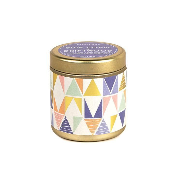 Kaleidoscope Candle - Blue Coral + Driftwood