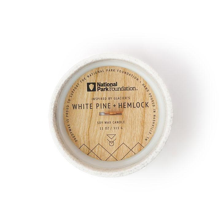 Parks Candle - White Pine + Hemlock