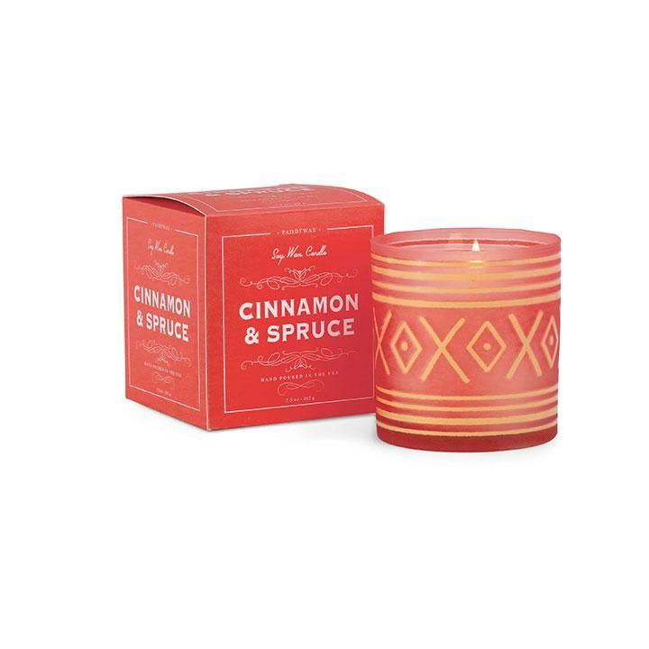 Glee Candle - Cinnamon & Spruce