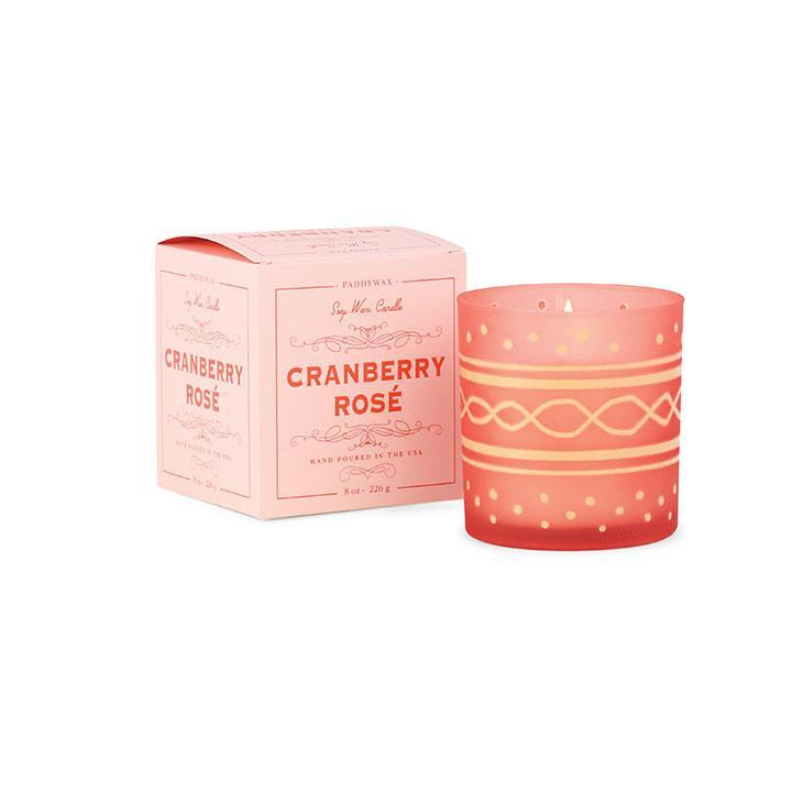Glee Candle - Cranberry Rosé