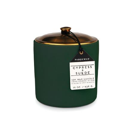 Hygge Candle - Cypress + Suede
