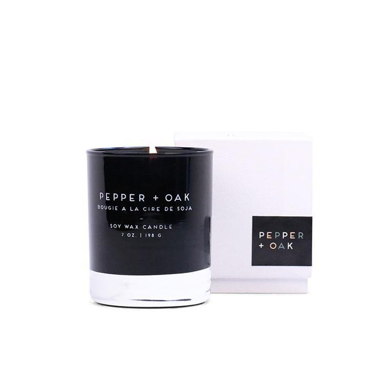 Statement Candle - Pepper + Oak