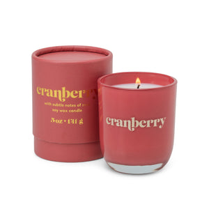 Petite Candle - Cranberry
