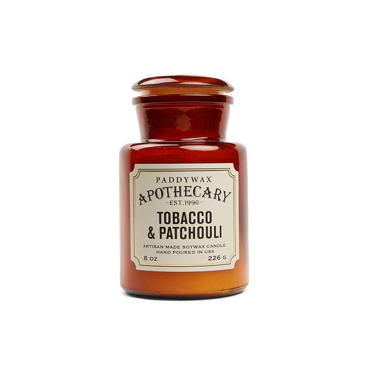 Apothecary Candle - Tobacco & Patchouli