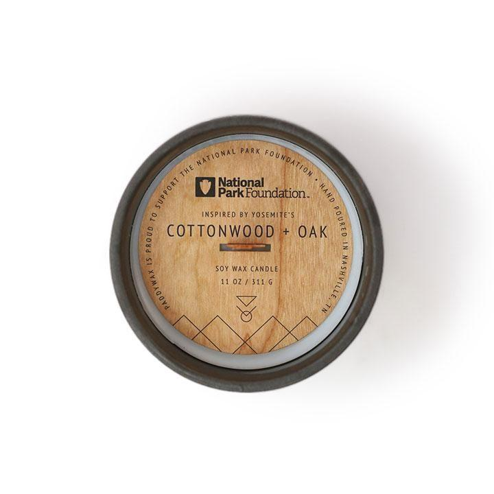 Parks Candle - Cottonwood + Oak