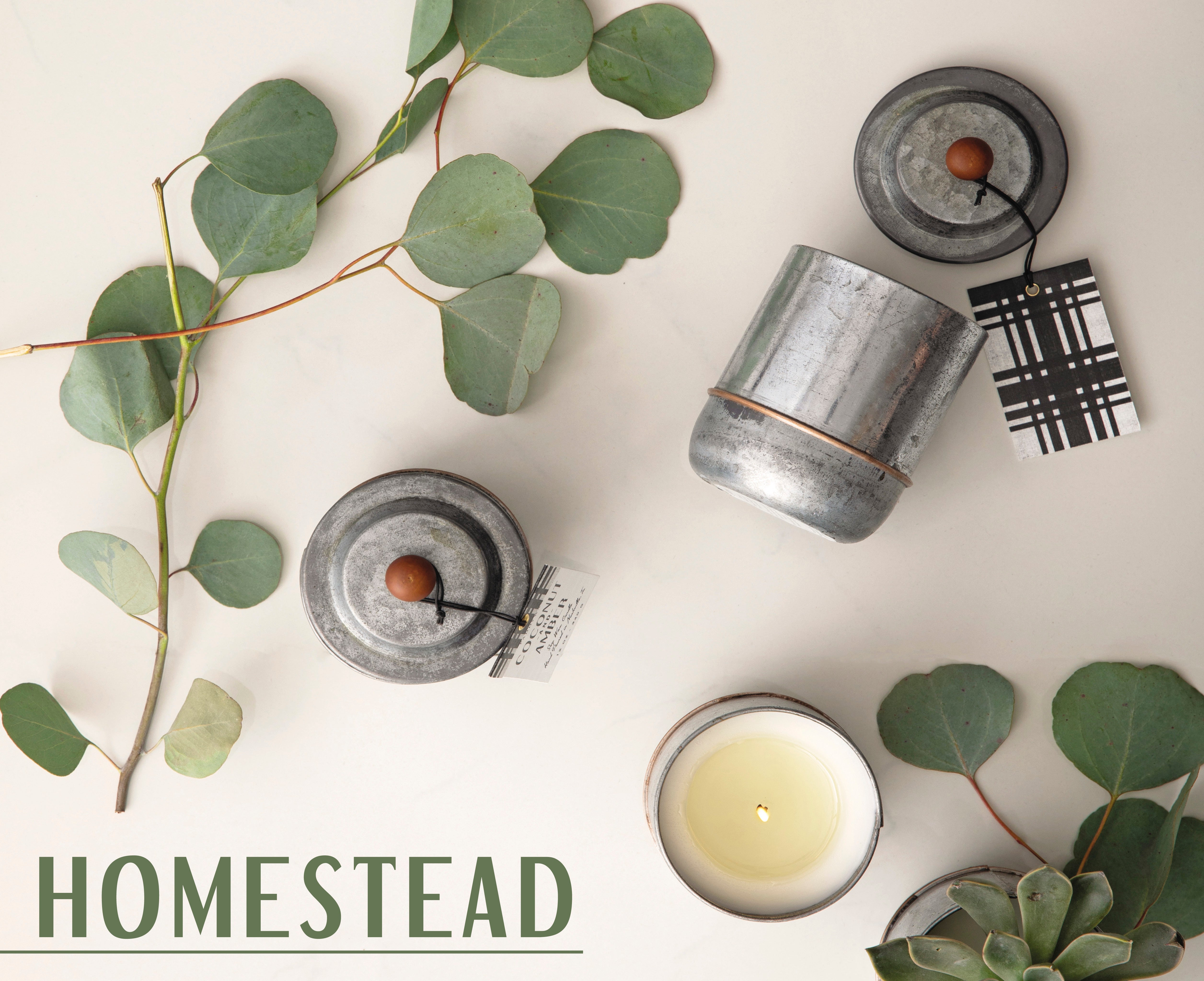 Homestead Candle Collection