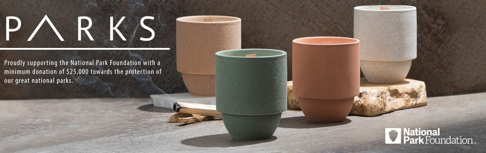 Parks Candle Collection by Paddywax