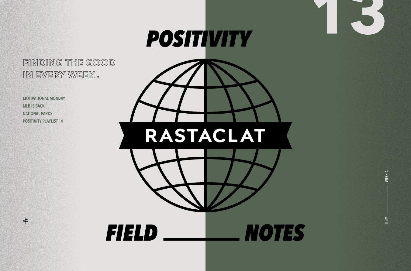 Positivity Field Notes vol.13