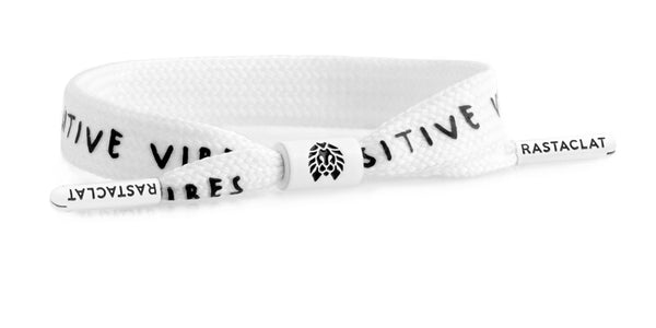 Positive Vibes - White