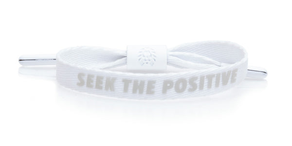 Seek the Positive - White M/L