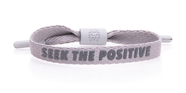 Seek the Positive - Grey M/L