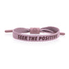 Seek the Positive - Pale Mauve M/L