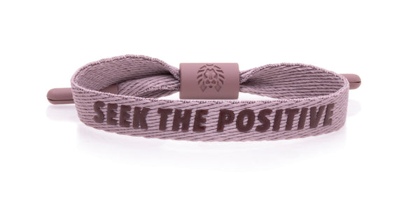 Seek the Positive - Pale Mauve S/M