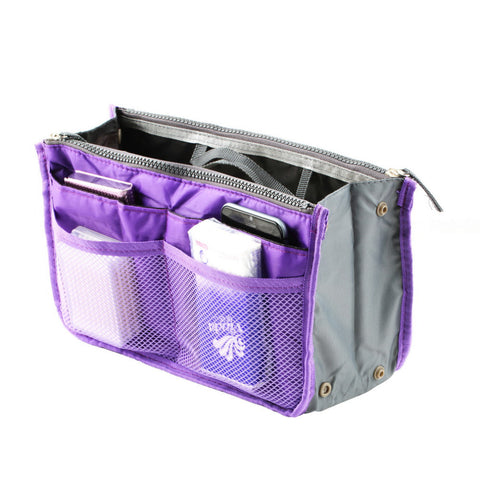 Travel Insert Handbag Organiser Purse