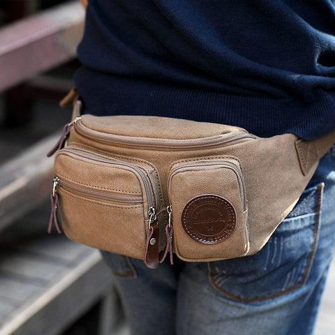 Men's Waist Bag Travel Belt