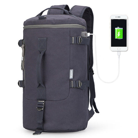 Muzee High Capacity Travel Bag With USB Cable