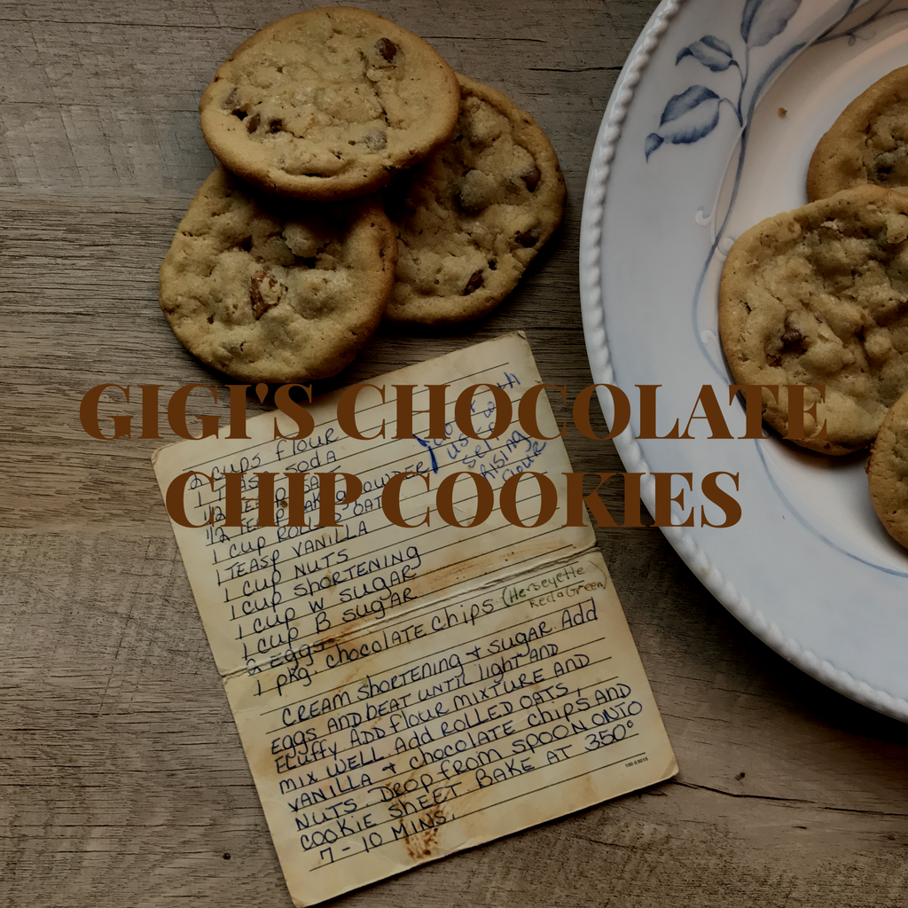 Feed The Soul Friday - Gigi's Chocolate Chip Cookies
