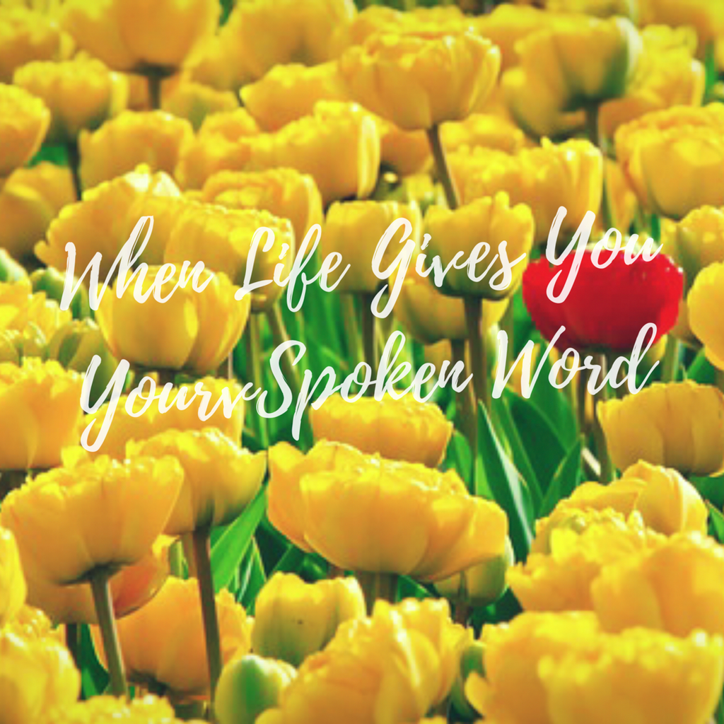 When Life Gives You Your Spoken Word