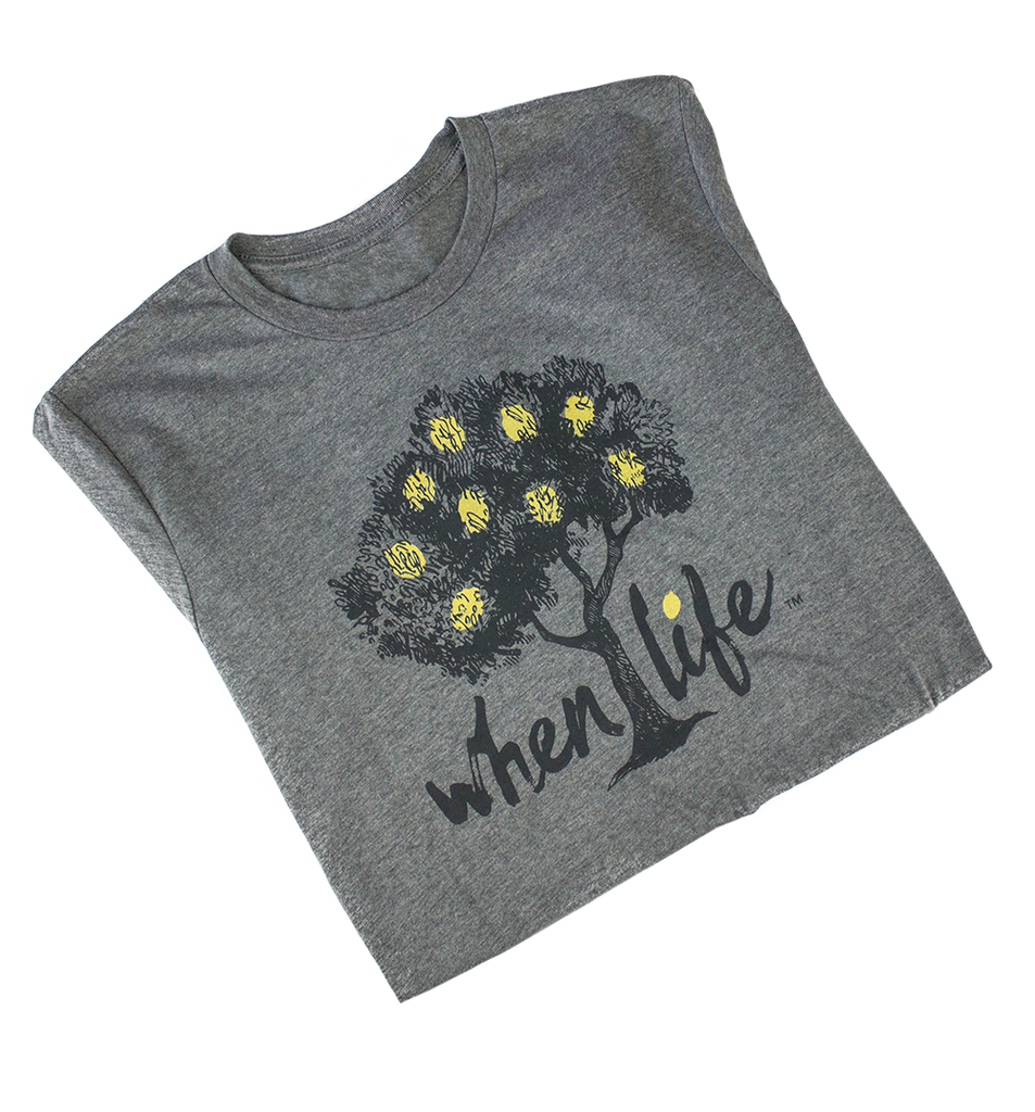 When Life Gives you Lemons inspirational shirt