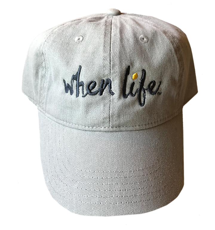 When Life Baseball Hat