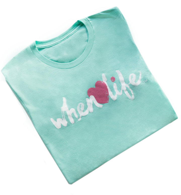 Heart Shirt - Mint