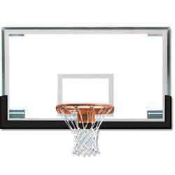 Spalding Superglass Collegiate Backboard Package