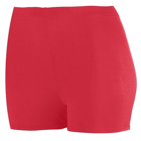 "LADIES POLY/SPANDEX 2.5"" SHORT"