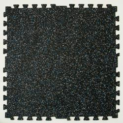 Zip-Tile Flooring 28.5x28.5x3/8 Black