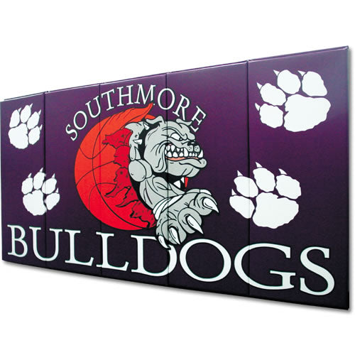 Wall Pads w/Graphics 2' x 7' x 2 1/2''