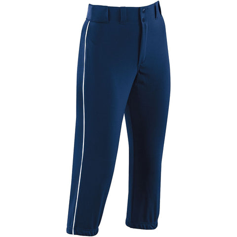 GIRLS' PIPED PROSTYLE LOW-RISE SOFTBALL PANT