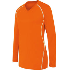 WOMENS LONG SLEEVE SOLID JERSEY
