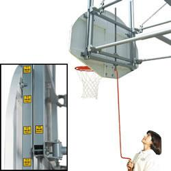 Bison Gymnasium Height Adjustment System - Fan Mounting