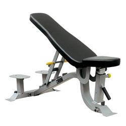 Wheeled Adjustable Weight Bench