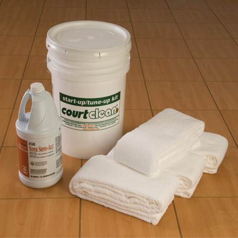 CourtClean Start-Up/Tune-Up Kit