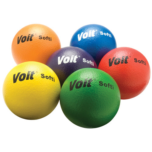 "Voit® 6 1/4'' ""Softi"" Tuff Balls Set of 6"