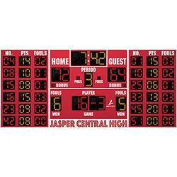 Basketball/Volleyball Scoreboard w/Player Panels